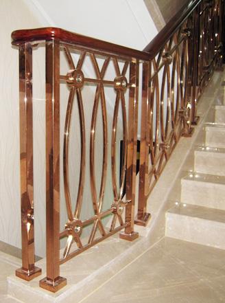 碧桂园楼梯扶手